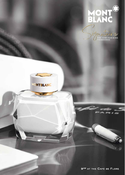 Montblanc Signature, la fragancia femenina más distintiva de Mont Blanc -  Revista Hola Polanco